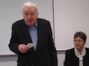 Борис Егоров и Любовь Киселева