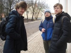 Константин Поливанов, Андрей Федотов, Артем Шеля
