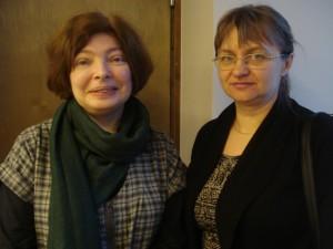 Татьяна Кузовкина и Инна Булкина