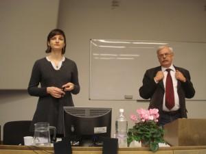 Татьяна Степанищева и Андрей Немзер