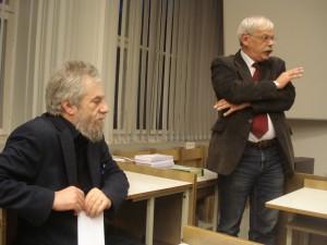 Михаил Лотман и Андрей Немзер
