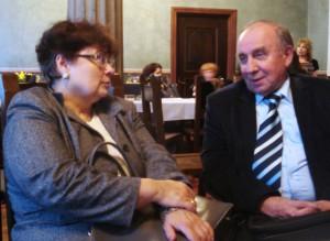 Анна Станкевич и Аркадий Неминущий