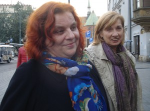 Регина Чичинскайте и Галина Михайлова