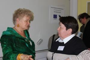 Халина Вашкелевич и Зинаида Поляк