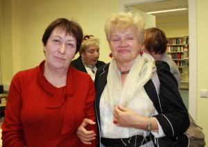 Ирина Белобровцева (Таллинн) и Халина Вашкелевич (Краков)