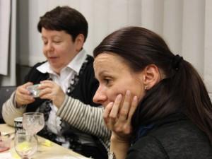 Зинаида Поляк (Алма-Ата) и Эвелина Пилярчик (Краков)