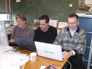 Prof. M.R. Godefroid (ULB, Belgium), Prof. P. Jönsson Malmö University (Sweden), Prof. G. Gaigalas (Vilnius University, Lithuania)