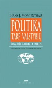 "H.Morgenthau knygos ""Politika tarp valstybių"" viršelis"